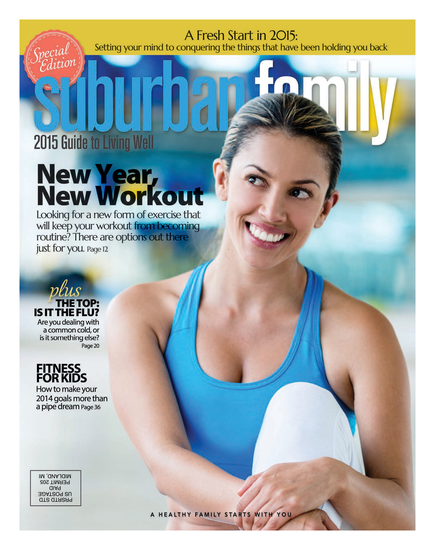 Suburban Family Magazine December 2014 Issue