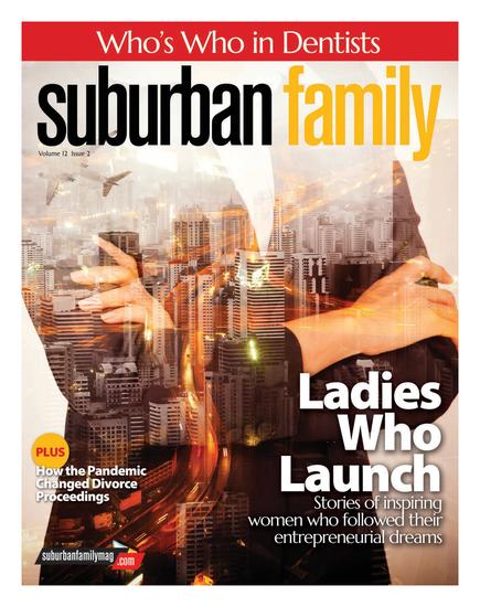 Suburban Family Magazine Issue Cover