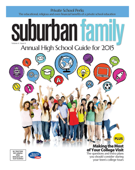 Suburban Family Magazine August 2015 Issue