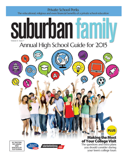 Suburban Family Magazine September 2015 Issue