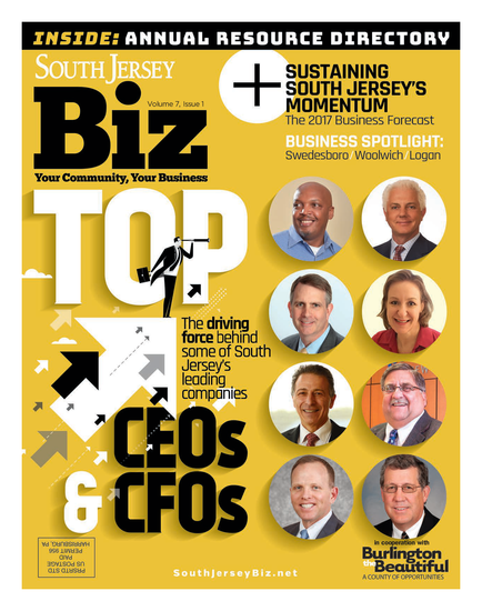 South Jersey Magazine January 2017 Issue