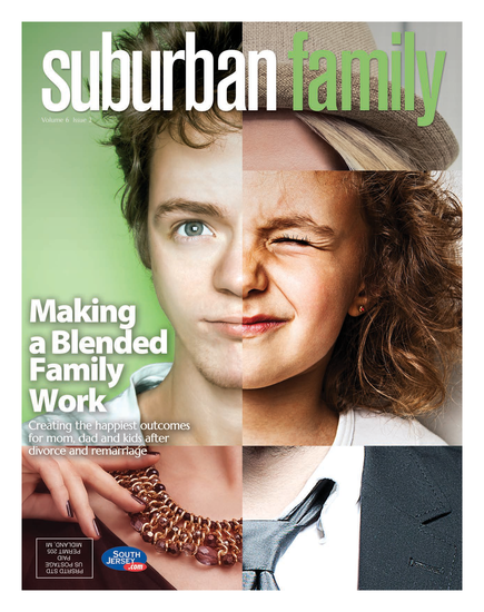 Suburban Family Magazine Issue Cover