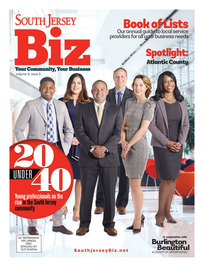 South Jersey Biz Issue Cover
